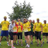 Rebel Runners beginners at Rushcliffe parkrun