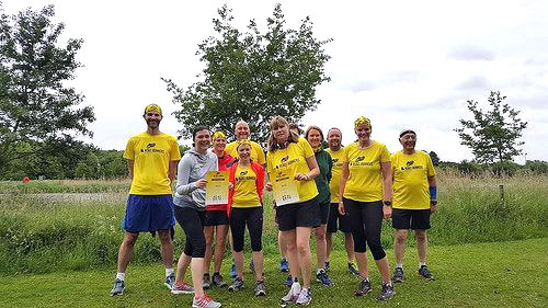 Rebel Runners beginners at Rushcliffe parkrun