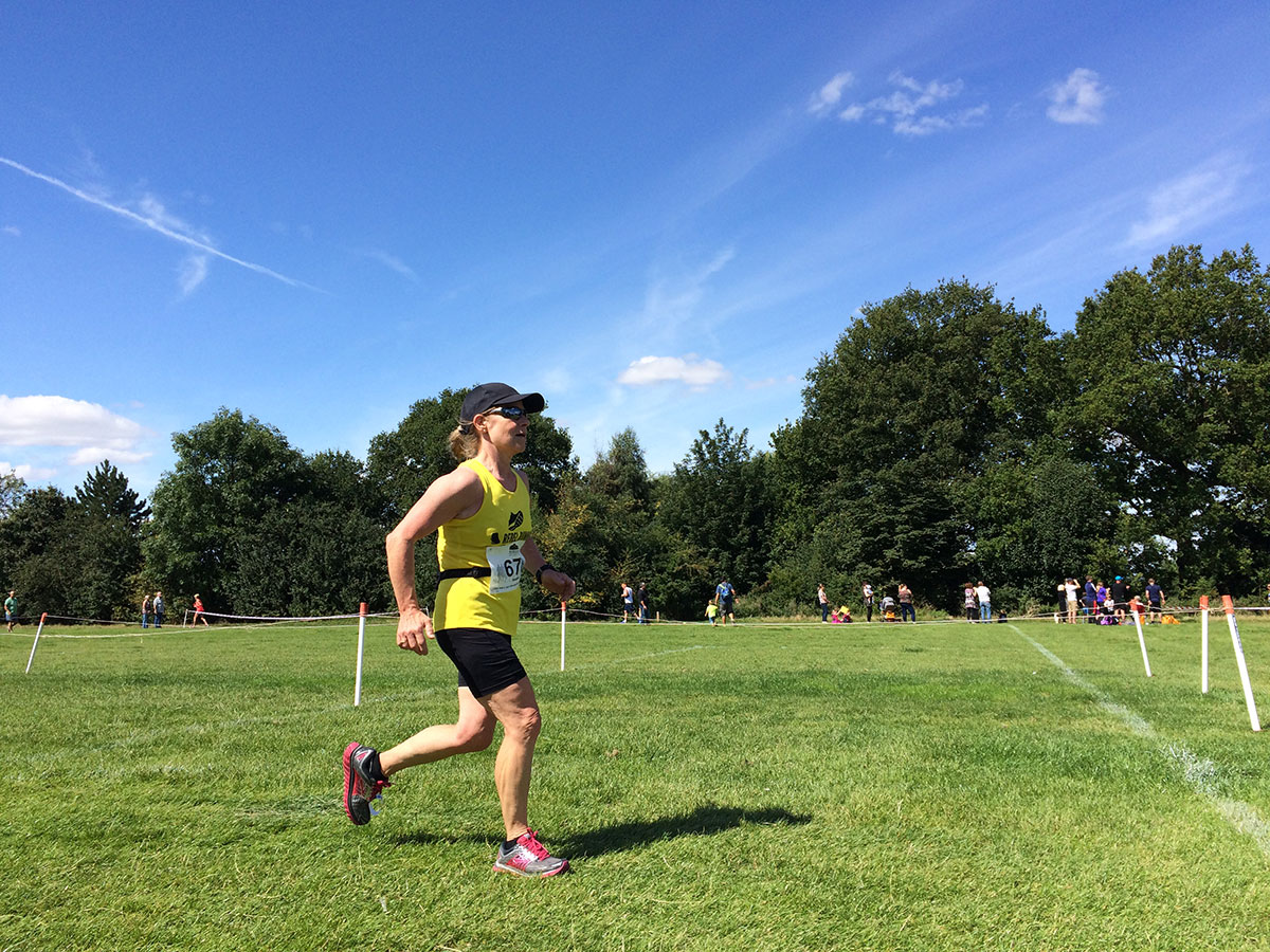 Sarah Melrose can see the finish . . .