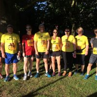 Some Rebel Runners before the start