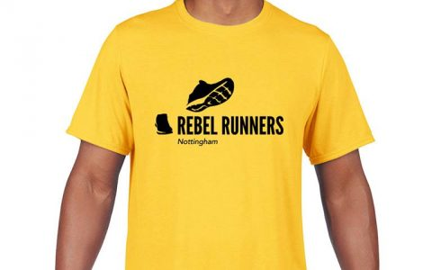 Rebel Runners mens t-shirt