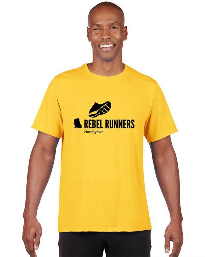 Rebel Runners mens t-shirt