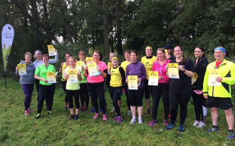 Beginners Graduation at Colwick parkrun