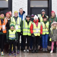 Rebel Runners volunteers Forest Rec parkrun 10/02/18