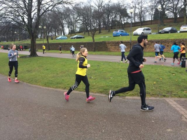 Rebel Runners Graduation parkrun March 2018