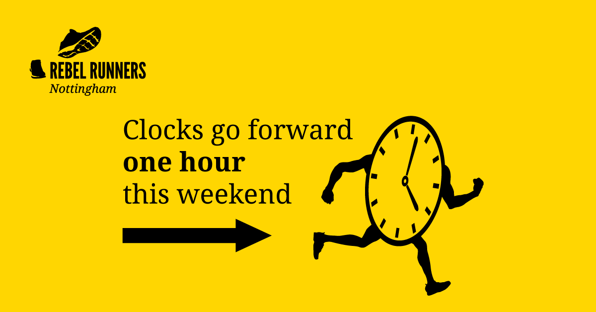 Clocks forward this weekend