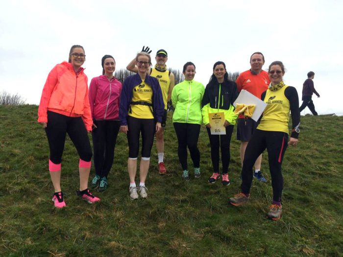 Rebel Runners beginners graduation at Beeston parkrun