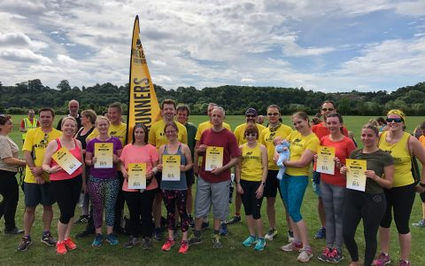 Graduation parkrun at Beeston June 2019
