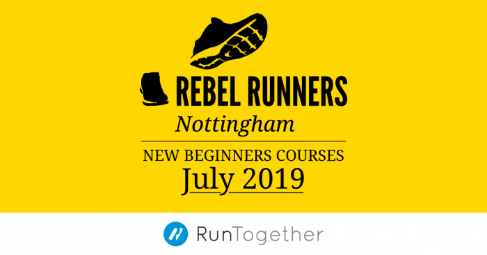 Beginners running course, July 2019