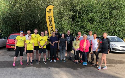 Graduation parkrun at Colwick August 2019