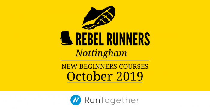 Beginners running course, October 2019