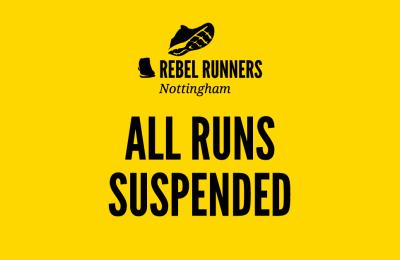 All runs suspended
